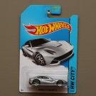 Hot Wheels 2014 HW City Ferrari F12 Berlinetta (silver)