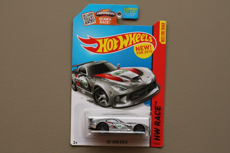 Hot Wheels 2015 HW Race SRT Viper GTS-R (silver)