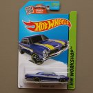 Hot Wheels 2015 HW Workshop '67 Pontiac GTO (blue)