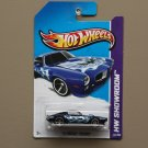 Hot Wheels 2013 HW Showroom '73 Pontiac Firebird (blue)