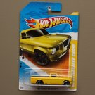 Hot Wheels 2011 HW Premiere '63 Studebaker Champ (yellow) (SEE CONDITION)