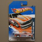 Hot Wheels 2011 HW Drag Racers Chevy Pro Stock Truck (silver)