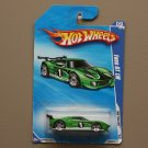Hot Wheels 2010 HW Racing Ford GT LM (green) (SEE CONDITION)