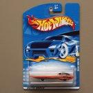 Hot Wheels 2001 Collector Series Solar Eagle III (orange) (SEE CONDITION)