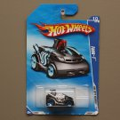 Hot Wheels 2010 HW City Works Four-1 (black) (SEE CONDITION)