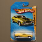 Hot Wheels 2010 HW Premiere '73 Ford Falcon XB (yellow) (SEE CONDITION)