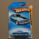 Hot Wheels 2010 HW Premiere '71 Maverick Grabber (blue) (SEE CONDITION)
