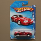 Hot Wheels 2010 HW Performance '92 Ford Mustang (red) (see condition)
