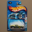 Hot Wheels 2004 Pride Rides '68 Ford Mustang (lime) (see condition)