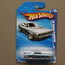 Hot Wheels 2010 Muscle Mania '69 Mercury Cougar Eliminator (silver) (see condition)