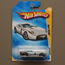Hot Wheels 2009 HW Premiere Fast Felion (silver) (see condition)