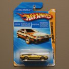 Hot Wheels 2010 HW Premiere '81 Delorean DMC-12 (gold) (SEE CONDITION)