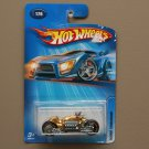 Hot Wheels 2005 Collector Series Dodge Tomahawk (gold) (SEE CONDITION)