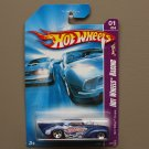 Hot Wheels 2007 HW Racing '41 Willys Coupe (blue) (SEE CONDITION)