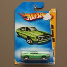 Hot Wheels 2009 HW Premiere AMC Javelin AMX (green) (SEE CONDITION)