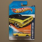 Hot Wheels 2010 Muscle Mania '70 Plymouth AAR Cuda (yellow)