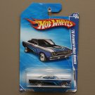Hot Wheels 2010 Nightburnerz '70 Plymouth Road Runner (silver/black) (SEE CONDITION)