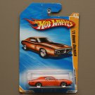 Hot Wheels 2010 HW Premiere '71 Dodge Charger (orange) (see condition)