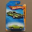 Hot Wheels 2010 HW Premiere '71 Dodge Charger (green)