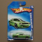 Hot Wheels 2009 Muscle Mania '08 Dodge Challenger SRT8 (green) (SEE CONDITION)