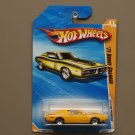 Hot Wheels 2010 HW Premiere '71 Dodge Charger (yellow) (SEE CONDITION)