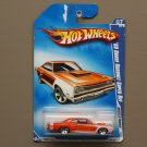 Hot Wheels 2009 Muscle Mania '69 Dodge Coronet Super Bee (orange) (see condition)