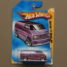 Hot Wheels 2008 First Editions Custom '77 Dodge Van (pink)