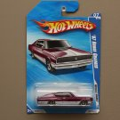 Hot Wheels 2010 Muscle Mania '67 Dodge Charger (burgundy)