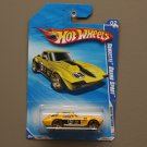 Hot Wheels 2010 Faster Than Ever Corvette Grand Sport (yellow) (SEE CONDITION)