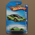 Hot Wheels 2009 Faster Than Ever '09 Corvette ZR1 (green) (SEE CONDITION)