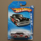 Hot Wheels 2010 HW Performance '57 Chevy Bel Air (black) (SEE CONDITION)