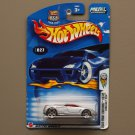 Hot Wheels 2003 First Editions Cadillac Cien (silver) (SEE CONDITION)