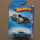 Hot Wheels 2010 Muscle Mania '70 Buick GSX (blue) (SEE CONDITION)