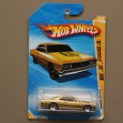 Hot Wheels 2010 HW Premiere '67 Chevelle SS 396 (gold) (SEE CONDITION)