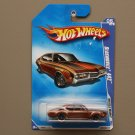 Hot Wheels 2009 Muscle Mania Oldsmobile 442 (brown) (see condition)
