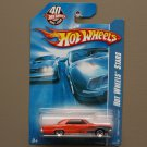 Hot Wheels 2008 HW All Stars '65 Pontiac GTO (orange) (see condition)