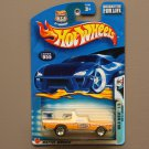 Hot Wheels 2003 Wild Wave '68 El Camino (yellow) (see condition)