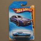 Hot Wheels 2010 HW Premiere '67 Pontiac Firebird 400 (blue) (SEE CONDITION)