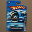 Hot Wheels 2006 Red Line '69 Pontiac Firebird (blue) (see condition)