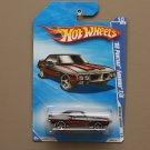 Hot Wheels 2010 Muscle Mania '69 Pontiac Firebird T/A (black)