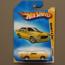 Hot Wheels 2009 HW Premiere Custom V8 Vega (yellow)