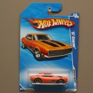 Hot Wheels 2010 Muscle Mania '67 Camaro (orange)