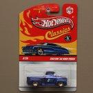 Hot Wheels 2009 Classics Series 5 Custom '56 Ford Truck (blue)