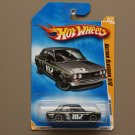 Hot Wheels 2009 HW Premiere Datsun Bluebird 510 (black) (SEE CONDITION)