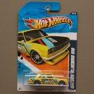 Hot Wheels 2010 Nightburnerz Datsun Bluebird 510 (yellow) (SEE CONDITION)
