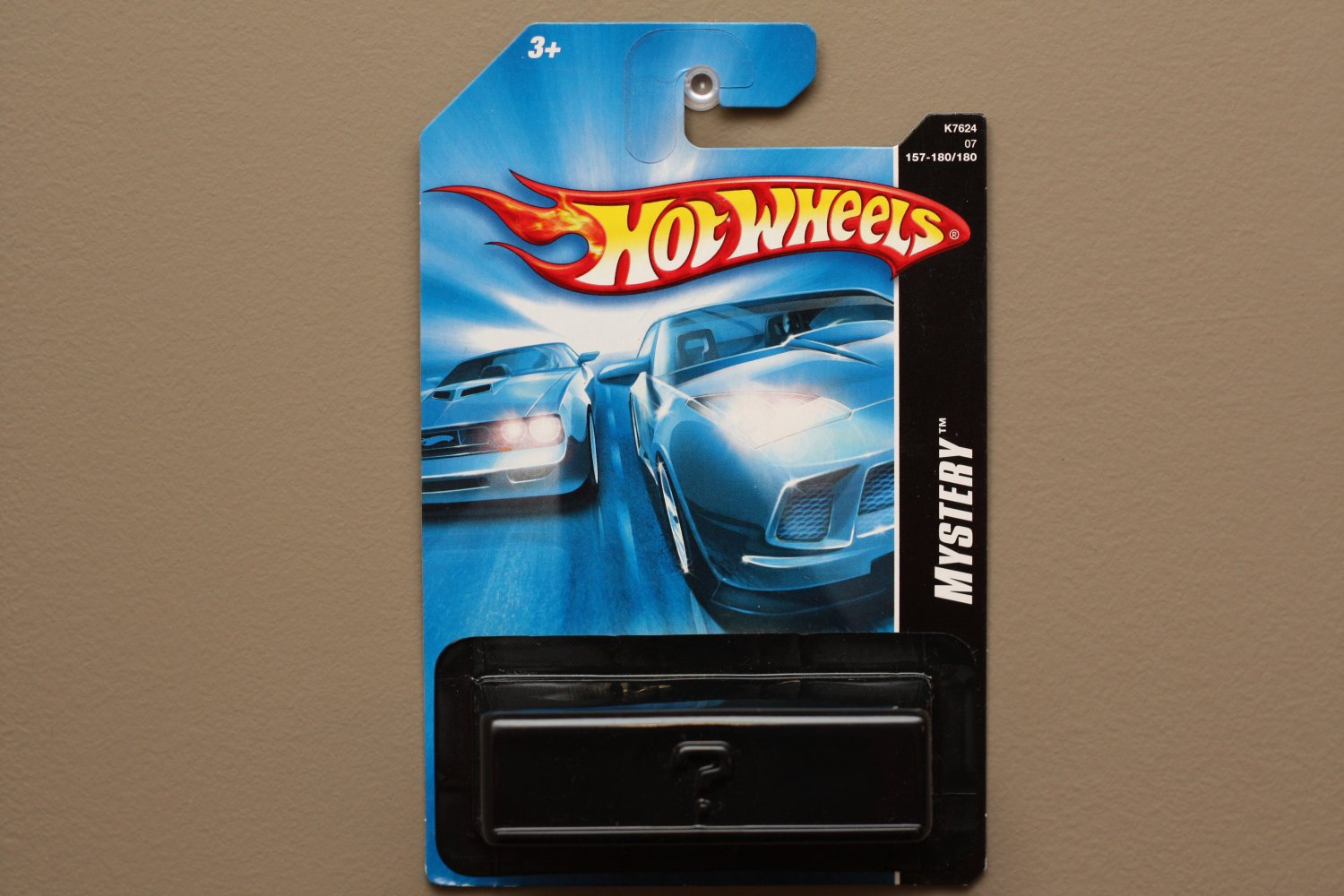 Hot Wheels 2007 Mystery Models Battle Spec (chrome)