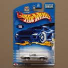 Hot Wheels 2003 First Editions Corvette Stingray (silver)