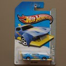 Hot Wheels 2013 HW City Mad Manga (blue) (SEE CONDITION)