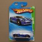 Hot Wheels 2010 Treasure Hunts Ford GTX1 (blue)