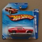 Hot Wheels 2010 Nightburnerz '67 Custom Mustang (red)